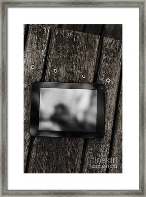Technology Travel Products Framed Print