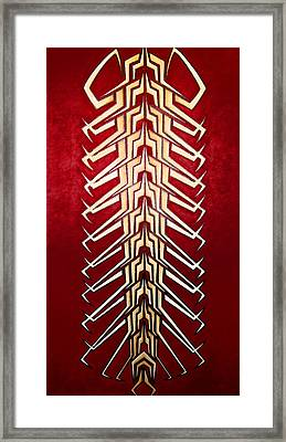 Technopede 3 Framed Print by Stefan Johnson
