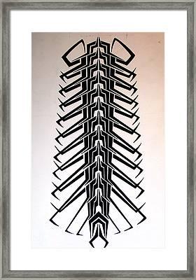 Technopede  Framed Print by Stefan Johnson