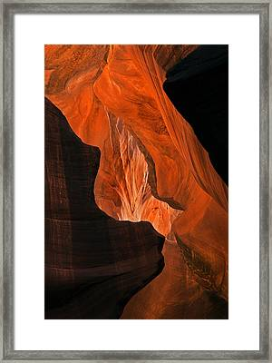 Tectonic Plates Framed Print by Mike  Dawson