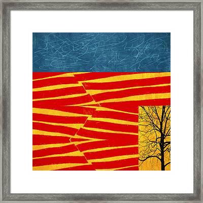 Tectonics Framed Print by Carol Leigh