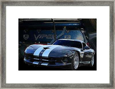 Ted 950 Hp Viper Framed Print by Jim  Hatch
