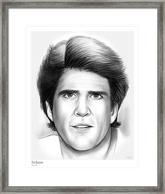 Ted Danson Framed Print