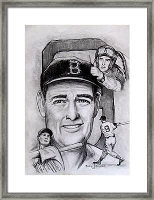 Ted Framed Print by Jack Skinner