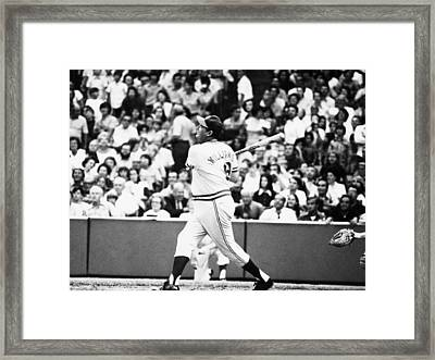 Ted Williams, Manager Of The Texas Framed Print by Everett