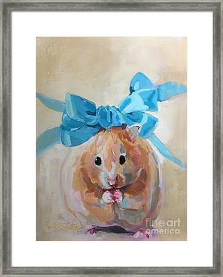 Teddy Framed Print by Kimberly Santini