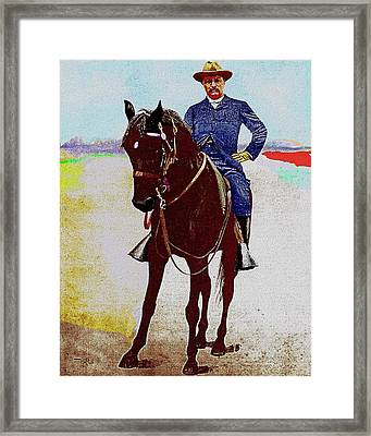 Teddy R Framed Print