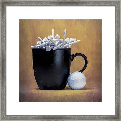 Tee Cup Framed Print by Tom Mc Nemar