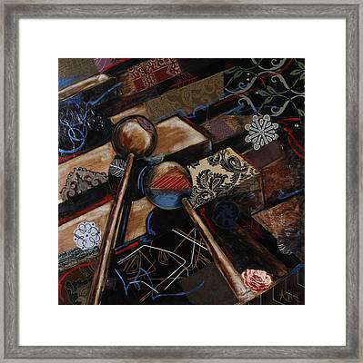 Tee The Marimba Framed Print