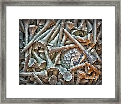 Teed Framed Print by Walt Foegelle