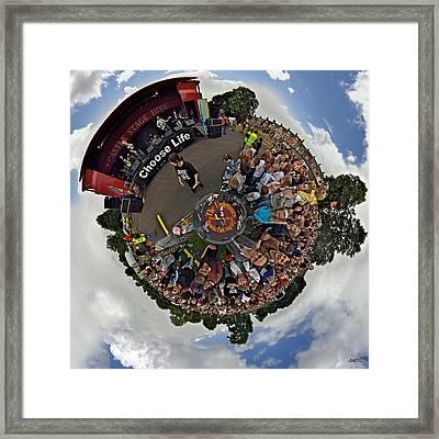 Teenage Kicks - The Undertones Play Brooke Park Framed Print