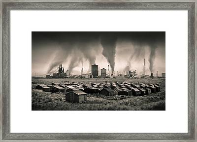 Teesside Steelworks 1 Framed Print by Dave Bowman