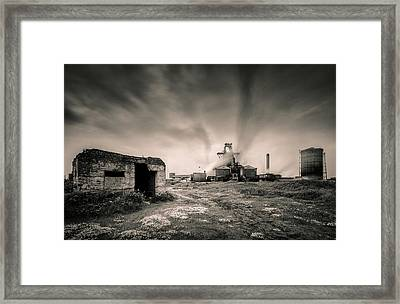 Teesside Steelworks 2 Framed Print by Dave Bowman