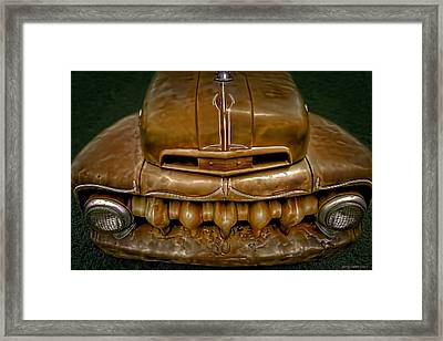 Teeth Framed Print by Jerry Golab