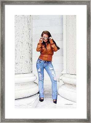Tegan Framed Print