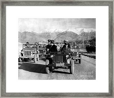 Tehran Conference, 1943 Framed Print by Granger