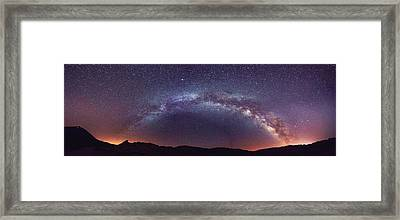 Teide Milky Way Framed Print