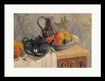 Fruitbowl Framed Prints