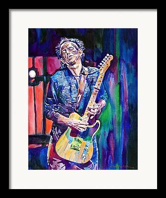 Rolling Stones Framed Prints