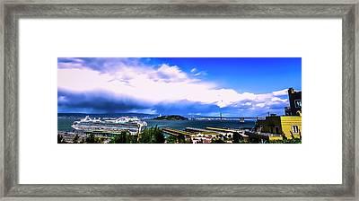 Telegraph Hill View Framed Print