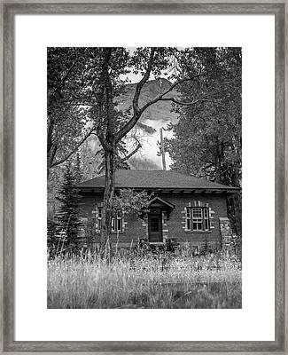 Telegraph Station Framed Print