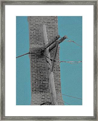 Telephonic 1 Framed Print by Todd Sherlock
