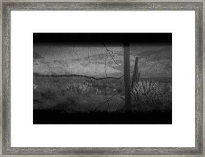 Framed Print featuring the photograph Tell Me by Mark Ross