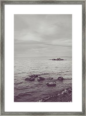 Tell Me What It Takes Framed Print