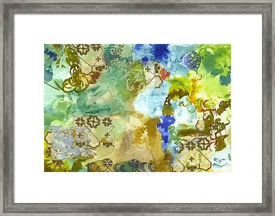Tell Me Your Secret Framed Print by Gloria Von Sperling