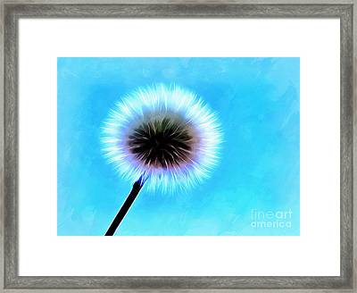 Tell Me Your Wish Framed Print