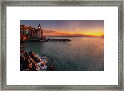 Tellaro Framed Print