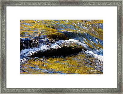 Framed Print featuring the photograph Tellico River - D010004 by Daniel Dempster