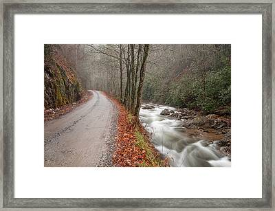 Tallulah River Framed Print by Derek Thornton