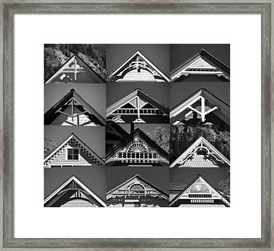 Framed Print featuring the photograph Telluride Classics by David Lee Thompson