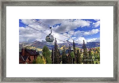 Telluride Ride Framed Print