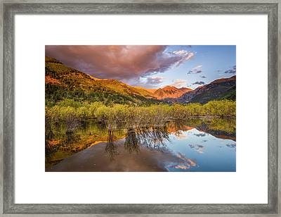 Telluride Valley Floor 2 Framed Print