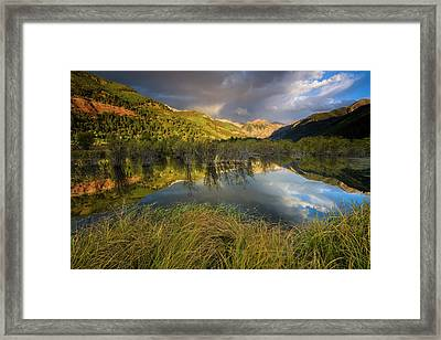 Telluride Valley Floor Framed Print