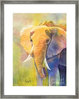 Tembo Framed Print
