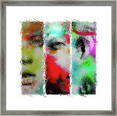 Temper Framed Print by Sir Josef - Social Critic -  Maha Art