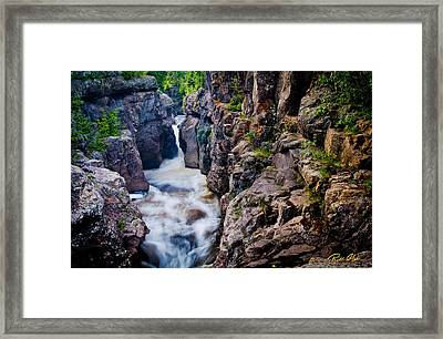 Temperance River Gorge Framed Print