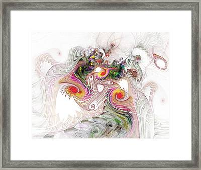 Framed Print featuring the digital art Tempest by NirvanaBlues
