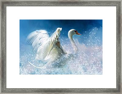 Tempestuous Beauty Framed Print