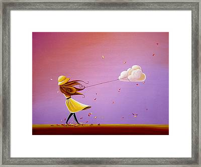 Tempestuous Framed Print by Cindy Thornton