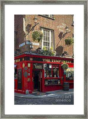 Temple Bar - Dublin Ireland Framed Print by Brian Jannsen
