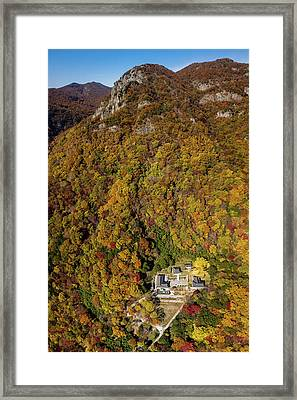 Temple In The Valley 2 Framed Print