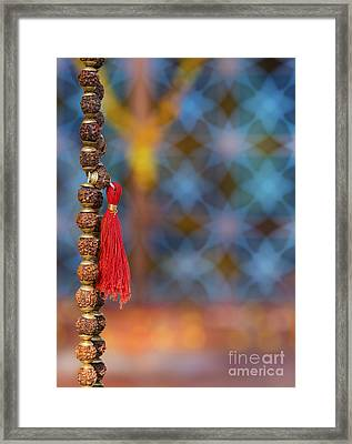 Temple Japamala Framed Print by Tim Gainey
