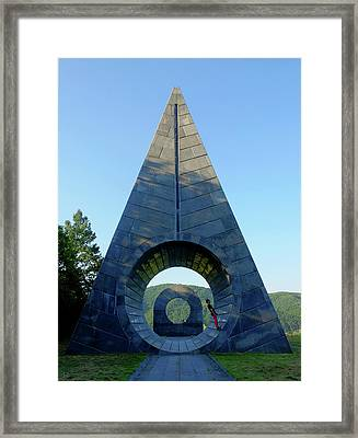 Framed Print featuring the photograph Temple by Obie Platon