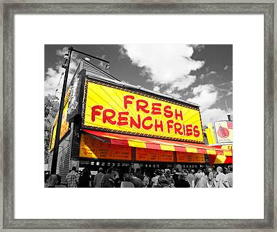 Temple Of Fries Framed Print by Jim Hughes