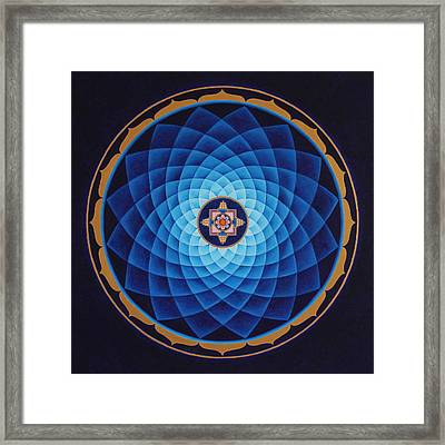 Temple Of Healing Framed Print
