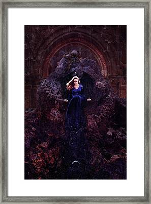 Temple Of Lilith Framed Print by Cambion Art